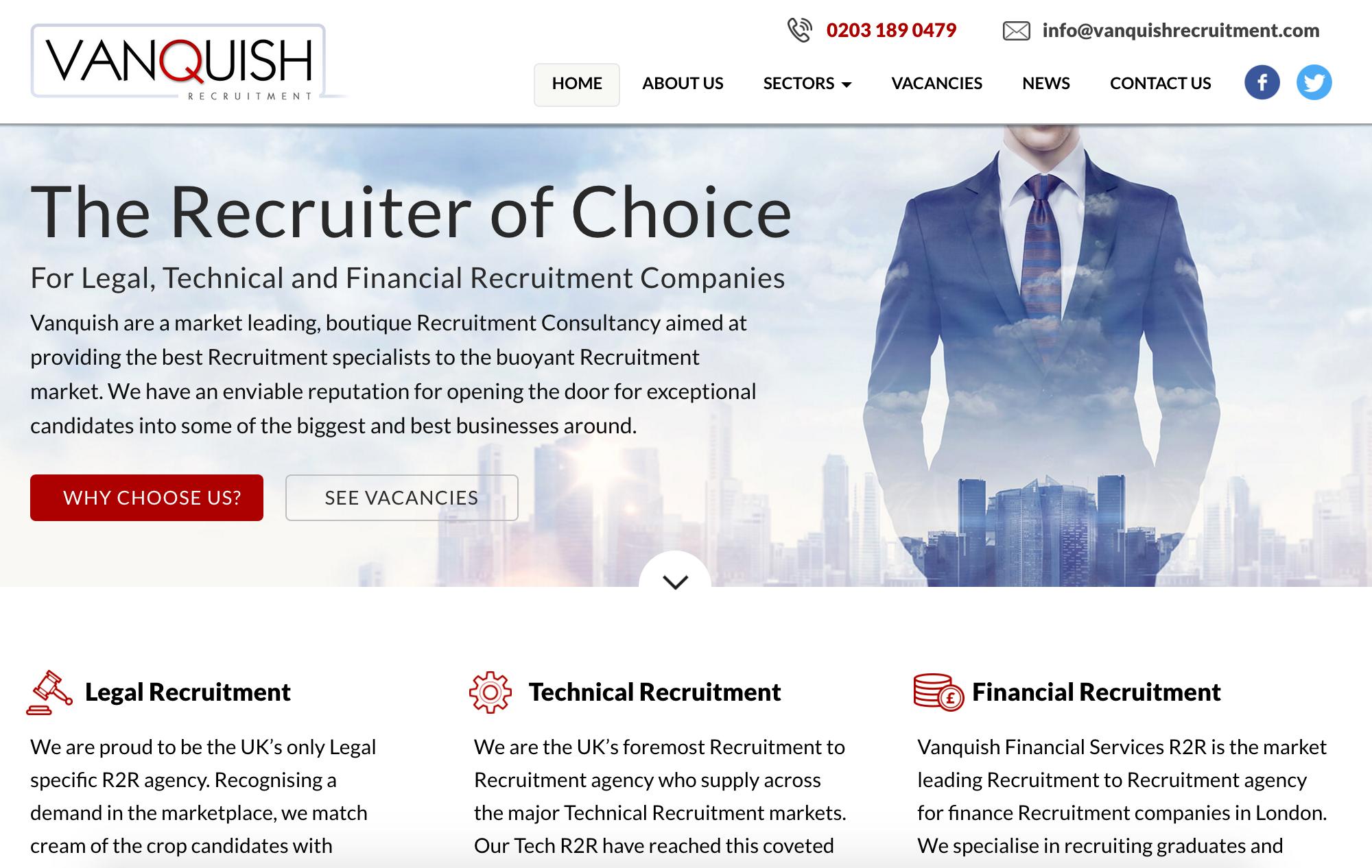 Vanquish Recruitment